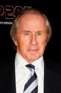 Jackie Stewart at the awards ceremony for BBC Sports Personality of the Year 2011 in England.