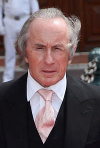 Jackie Stewart at the religious ceremony of the Royal Wedding of Prince Albert II to Princess Charlene in Monaco.