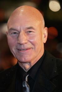 Patrick Stewart at The Orange British Academy Film Awards.