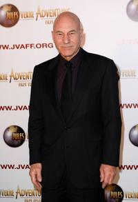 Patrick Stewart at the Jules Verne Adventure Film Festival Special Awards Presentation.