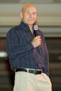 Patrick Stewart at the Las Vegas Star Trek convention.