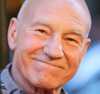 Patrick Stewart at the New York premiere of