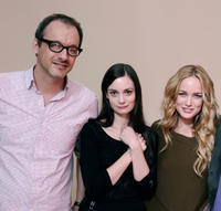 Nicholas McCarthy, Haley Hudson and Caity Lotz at the portrait session of
