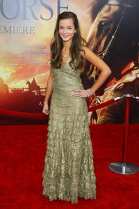 Celine Buckens at the world premiere of