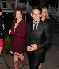 Amy Stiller and Ben Stiller at the 2012 Made In NY Awards.