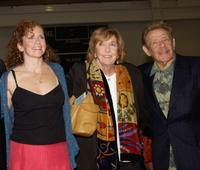 Amy Stiller, Anne Meara and Jerry Stiller at the Calhoun School Dedication and Gala Benefit.