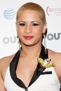 Harmony Santana at the 2011 OUT100 in New York.