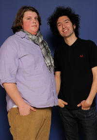 Jacob Wysocki and director Azazel Jacobs at the photocall of