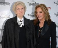 Elaine Stritch and Stockard Channing at the 2005 Tony Awards Party and The Julie Harris Award.