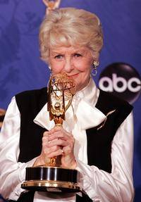 Elaine Stritch at the 56th Annual Primetime Emmy Awards.