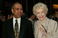 George C.Wolfe and Elaine Stritch at the 56th Annual Tony Awards.