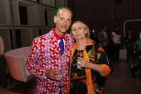 Director John Waters and Mink Stole at the after party of the premiere of
