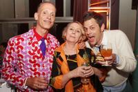 Director John Waters, Mink Stole and Johnny Knoxville at the after party of the premiere of