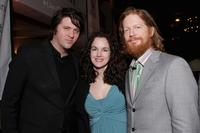 Eric Stolz, Orian Williams and Bernadette Moly at the Third Annual reception