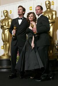 Lisa Blount and Ray McKinnon at the 74th Annual Academy Awards.