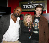 Shawn White, Inga Smith and Sean Stone at the FilmFunds during the 2011 Toronto International Film Festival.