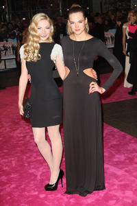 Clara Paget and Gabriella Wilde at the world premiere of