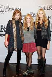 Milla Jovovich, Juno Temple and Gabriella Wilde at the photocall of