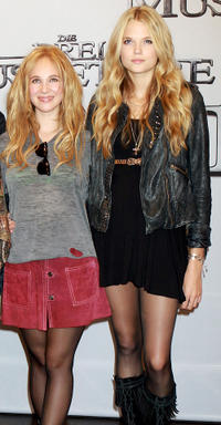 Juno Temple and Gabriella Wilde at the photocall of