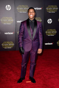 John Boyega at the California premiere of