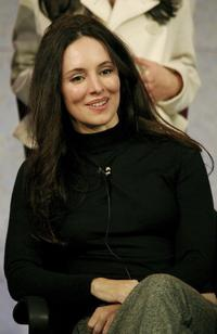 Madeleine Stowe at the 2007 Winter TCA Tour.