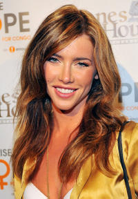 Jacqueline MacInnes-Wood at the Raise Hope for the Congo event in California.