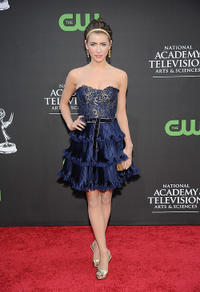 Jacqueline MacInnes-Wood at the 36th Annual Daytime Emmy Awards in California.