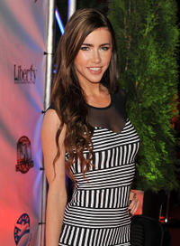 Jacqueline MacInnes-Wood at the after party of the premiere of
