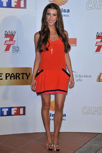 Jacqueline MacInnes-Wood at the 50th Anniversary celebration of the Monte Carlo TV Festival in Monaco.
