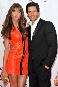 Jacqueline MacInnes-Wood and Brandon Beemer at the Closing Ceremony of the 2010 Monte Carlo Television Festival in Monaco.