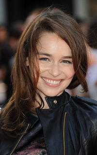 Emilia Clarke at the premiere of