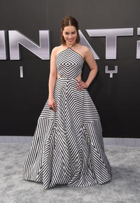 Emilia Clarke at the California premiere of