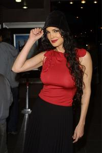 Julie Strain at the premiere of