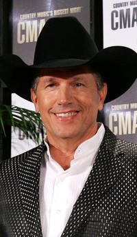 George Strait at the 41st Annual CMA Awards in Tennessee.