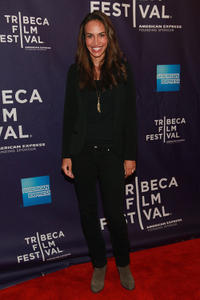 Nina Lisandrello at the premiere of
