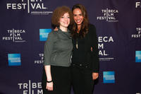 Vicki Gelatt and Nina Lisandrello at the premiere of