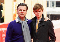Director Ian Fitzgibbon and Thomas Brodie-Sangster at the photocall of