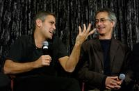 David Strathairn and George Clooney at the Variety Screening Series of