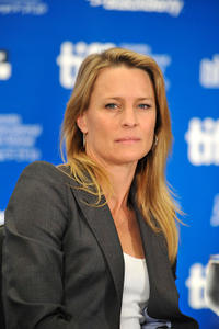 Robin Wright at the Press Conference of the