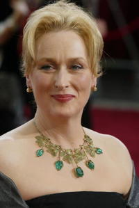 Meryl Streep at the 75th Annual Academy Awards in Hollywood.