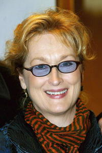 "Meryl Streep at the premiere of ""Lemony Snicket's A Series Of Unfortunate Events"" in London."