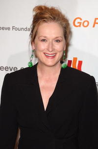 Meryl Streep at the Christopher Reeve Foundation's 'A Magical Evening' in New York City.