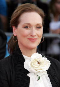 "Meryl Streep at the screening of ""The Devil wears Prada"" in Deauville, France."