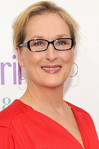 Meryl Streep at the