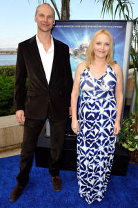 Nick Stringer and Miranda Richardson at the California premiere of