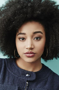 Amandla Stenberg during the 2016 Sundance Film Festival.