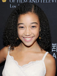 Amandla Stenberg at the BAFTA Los Angeles 2011 Britannia Awards in California.