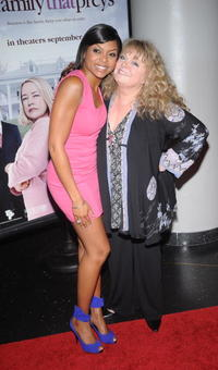 Taraji P. Henson and Sally Struthers at the premiere of