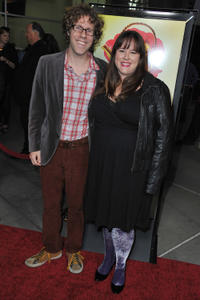 Tara Copeland and Guest at the California premiere of