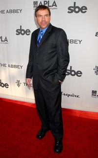 Jason Stuart at the Envelope Please Oscar Viewing Party.